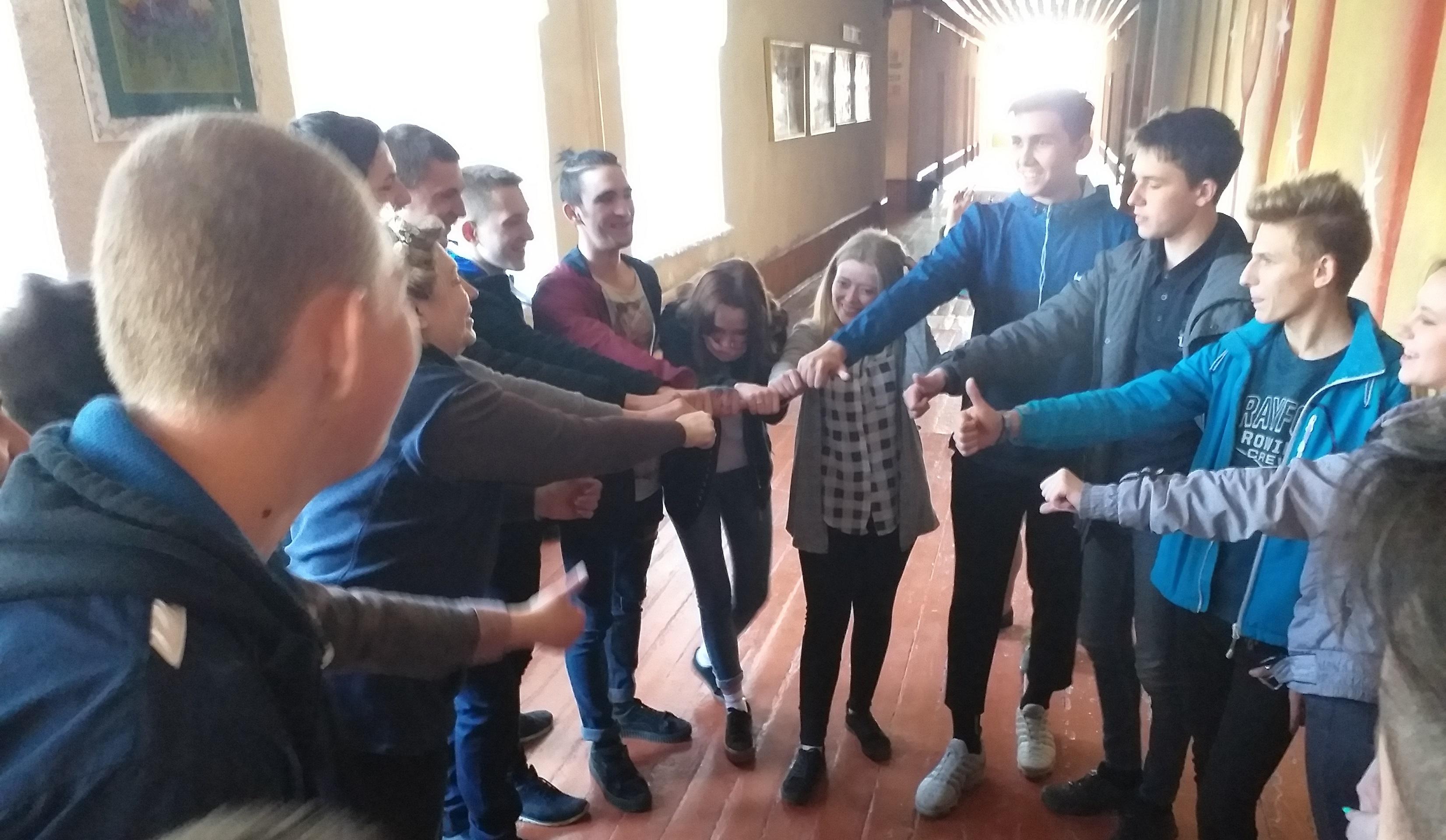 Психологічний тренінг: «Група на з'єднання команди»