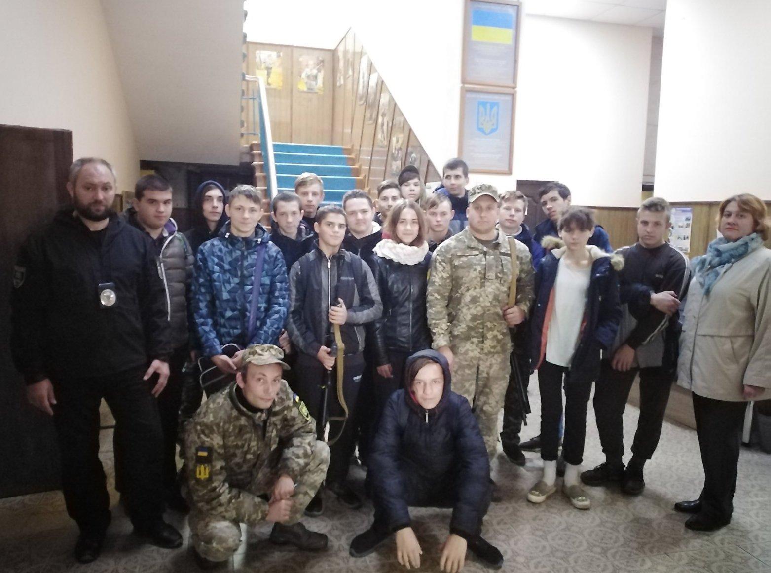 Екскурсія до Дружківського міського військового комісаріату
