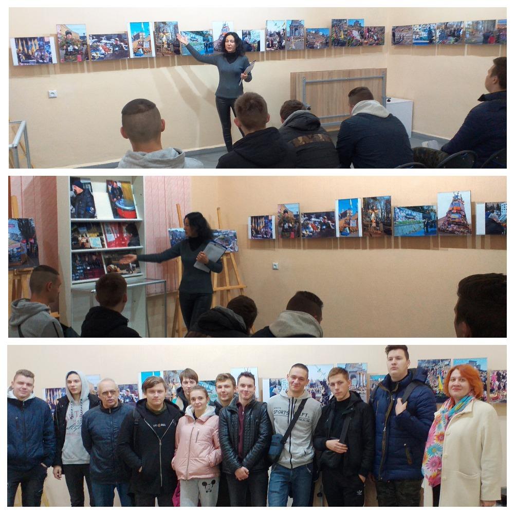 Відвідування Донецького обласного художнього музею